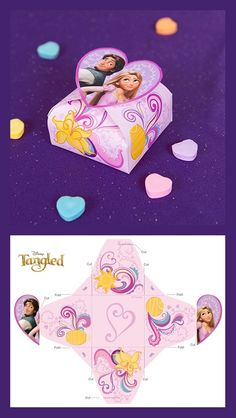 Tangled Valentine's Day Candy Box
