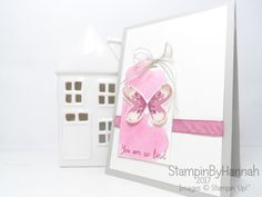 Global Design Project Case the Designer Louise Sharpe Watercolour Kindness card using Watercolour Wings from Stampin' Up! UK