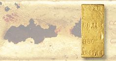 A Kellogg and Humbert, Assayers gold ingot recovered from the SS Central America treasure and weighing 68.11 ounces sold for $140,400 at the Bonhams June 6 Coins and Medals auction in Los Angeles.