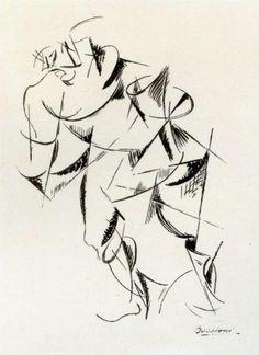 Dynamism of the human body: Boxer, 1913 Umberto Boccioni