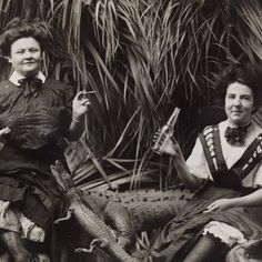 Alligator Women - PROJECT B - Limited Edition Prints, Vintage Photographs, Shop Collections