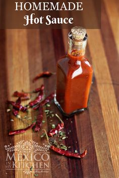 Homemade Red Hot Sauce, Learn how to do make it today.