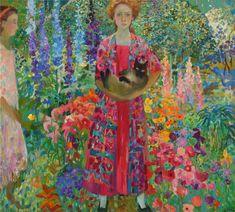 Olga Suvorova painting in Nashville Art And Illustration, Inspiration Art, Impressionist Art, Gouache Painting, Russian Art, Klimt, Art Plastique, Beautiful Paintings, Oeuvre D'art