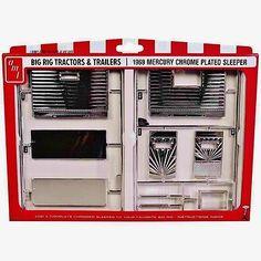 AMT 1969 MERCURY SEMI TRUCK CHROME SLEEPER model kit 1/25