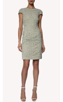 J. Mendel Floral Lace Sheath Dress