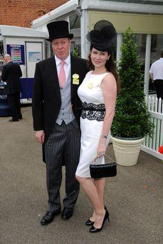 Earl & Countess Spencer at Royal Ascot 2013