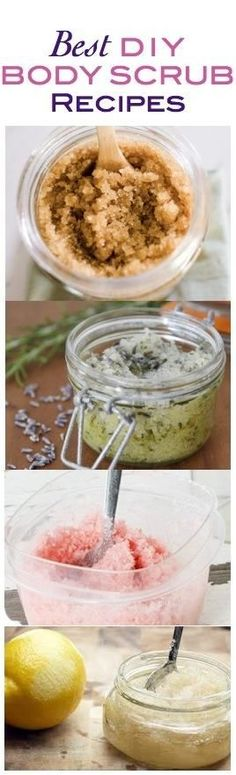 7 DIY Body Scrub Recipes: 1-Coffee Body Scrub.2-Rosemary Lavender Salt Scrub.3-Daniela Ferri's Go-To Body Scrub.4-Sunless Tanner Body Scrub.5-Peppermint Sugar Scrub.6-Vanilla Sugar Scrub.7-Create Your own Scrub.