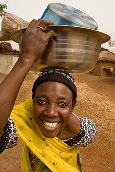 Tamale woman . Ghana