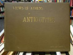 SCARCE VIEWS OF ATHENS AND ANTIQUITIES 1889 ENGLISH PHOTO CO ALBUM EX RARE!!!