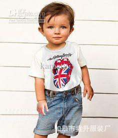 Wholesale T Shirt - Buy Boys Summer T- Shirt The Tongue Short Sleeve T-shirt Hot Sold, $5.43 | DHgate