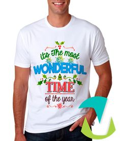 DESIGN FOR T-SHIRTS MERRY CHRISTMAS  - #mottaplantillas #design #sublimationMerry Christmas Wonderful Time, Merry Christmas, Mugs, Mens Tops, T Shirt, Design, Heat Press, T Shirts, Xmas