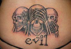 speak-see-hear-no-evil-tattoo-on-lowerback.jpg (1024×708)