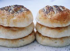 Glutenfria vallmofrallor – Josefins glutenfria Bread Baking, Bagel, Food And Drink, Gluten Free, Keto, Baking, Glutenfree, Sin Gluten, Grain Free