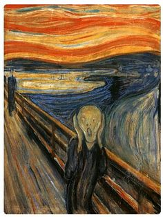 "Edvard Munch's painting ""The Scream"" is a good example of expressionism"