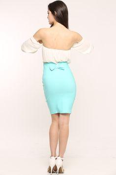 Bow Pencil Skirt $21.00
