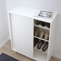 Online Ikea IKEA MACKAPAR Shoe cabinet/storage in Auckland NZ. Lowest prices and largest range of IKEA Furniture in New Zealand. Shop for Living room furniture, outdoor furniture, bedroom furniture, office and alot more ! Shoe Storage Cabinet White, Shoe Cabinet, Storage Cabinets, Shoe Storage With Sliding Doors, Entryway Shoe Storage, Home Office Organization, Office Storage, Organizing Your Home, Ikea Skubb