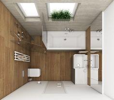 Moderní koupelna GOLF - Půdorys koupelny