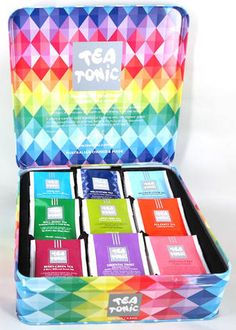Tea Tonic Tea Chest Deluxe