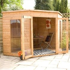 Summer Houses | Free Delivery From Devon Garden Sheds