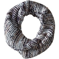 BCBGeneration Chunky Shine Twisted Cowl (Navy Dusk) Scarves ($20) ❤ liked on Polyvore featuring accessories, scarves, navy, chunky scarves, metallic scarves, bcbgeneration, navy blue shawl and loop scarves