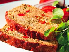 Peppery-Meat-Loaf-with-Couscous....   I love the range of mouthwatering tastes in this recipe, which combines old-fashioned meat loaf with Mediterranean flavors such as red peppers, paprika, cumin and coriander. Serve this with baked potatoes in their skins and a tossed salad.