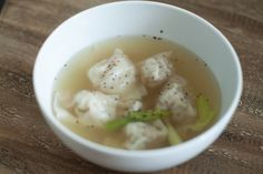 I'm sharing my best wonton soup ever recipe from my mom who is the queen of wontons.