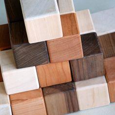 Little Sapling Toys blocks on SouleMama