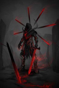 Duelista amaldiçoado, precisa matar alguém com sua espada todo dia, se não a espada te mata.