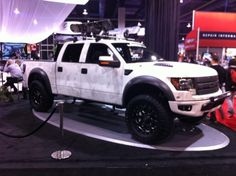 Ford Raptor,Fords latest tough truck. Really cool.