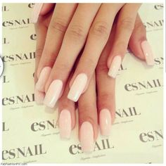 The perfection of nude nails