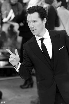 Benedict Cumberbatch on the red carpet, Star Trek London Premiere  5/02/13