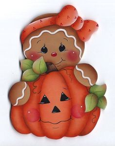 Change gingerbread to a ghost Gingerbread Ornaments, Gingerbread Decorations, Gingerbread Man, Halloween Clipart, Halloween Crafts, Halloween Decorations, Fall Crafts, Christmas Crafts, Diy And Crafts