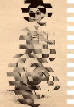 """Decency / Good manners"" by Matthieu Bourel. Art Print / Mini x Collages, Collage Art, Max Ernst, Matthieu Bourel, Perspective Photography, Image Digital, Photocollage, Cultura Pop, Beauty Art"
