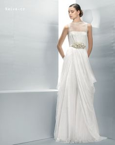 JESUS PEIRO 2013 svatební šaty, model JP 3017