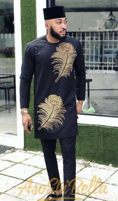 african fashion for men, trending mens wear, african fashion, agbada African Male Suits, African Wear Styles For Men, African Shirts For Men, African Dresses Men, Ankara Styles For Men, African Attire For Men, African Clothing For Men, African Outfits, African Style