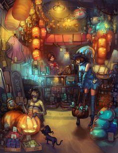 :: Mystery shop by Readman.deviantart.com on @DeviantArt