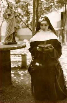 """Servant of God, Sister Consolata Betrone -Mystic and Victim Soul """"There is a beautiful supplication, a quick prayer that our ."""