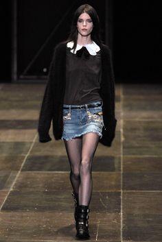 Saint Laurent Fall 2013 Ready-to-Wear Fashion Show - Meghan Collison