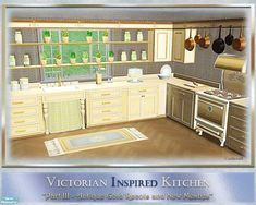 cashcraft's Victorian Inspired Kitchen III