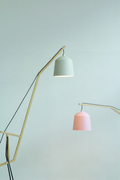 a floor lamp by aust