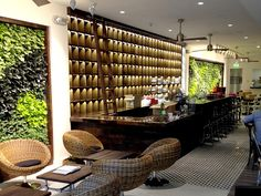 Ticety Iced Tea Bar » GSky Plant Systems, Inc. - The leading provider of Green Walls in North America