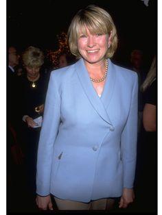 Workwear: Lifestyle expert Martha Stewart, 1998