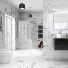 22 ideas for bathroom tiles – simple and stylish - Marble Cheap Bathroom Tiles, Home Depot Bathroom Tile, Grey Bathroom Floor, Black Marble Bathroom, Black Bathroom Furniture, Modern Bathroom Tile, Bathroom Tile Designs, Cheap Bathrooms, Bathroom Flooring