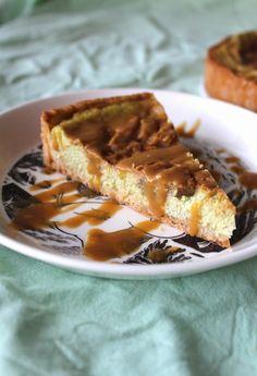 Kinuski-päärynäjuustokakku uunissa Waffles, Breakfast, Food, Morning Coffee, Meals, Waffle, Morning Breakfast