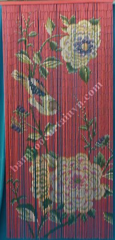 Genial Producer And Exporter Of Halcyon Palm Tree Serenity Painted Bamboo Door  Curtain For Doorways, Window.