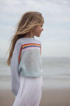 Cute rainbow sweater
