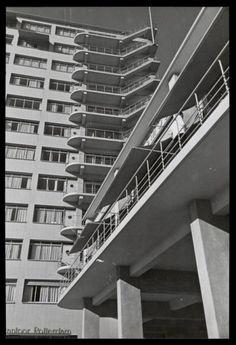 Jan Kamman, Office of the Hollandsche Bank Unie (HBU), Rotterdam (1925-1950)