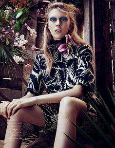 Vogue Japan - Tropical Heat
