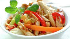Kyllingwok Wok, Poultry, Cravings, Carrots, Shrimp, Tasty, Chicken, Meat, Vegetables