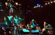 Feria De Las Flores, abriendo el concierto de Los Tigres del Norte y Los Internacionales Rayos de Mexico #PopularRock